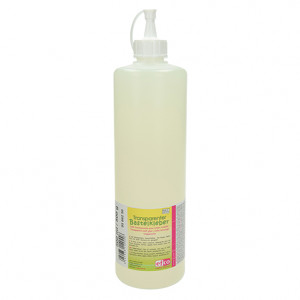 Transparenter Bastelkleber, 500 ml